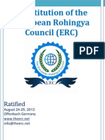 The European Rohingya Council  Constituiton (ERC)