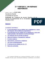 Juan Fernando Sellés - Habitos y virtud- I