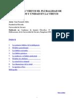 Juan Fernando Sellés - Habitos y virtud- III