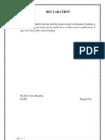 Internship Report-India Infoline