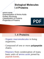 1.4 Proteins