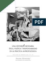 """Narotzky, Susana. 2004. """"Una historia necesaria"""