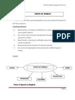 WAJ3102 Topic1 Parts of Speech.doc