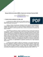 INTA-Bloques Multinutricionales y Suplementos