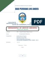 Trabajo Monografico de Las Herramientas de Gestion Ambiental