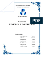 Lab Report Renewables