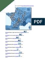 Sites Et Club Parapente de France