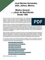 Presentacion Juan Manuel Montes Hernández