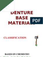 Sample Presentation - Denture Base Materials