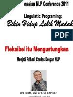 Fleksibel Itu Menguntungkan - NLP Conference