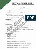 Formulae List Senior Class