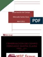 PresentacionObservacion de Campo Santa Clara