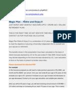 Magic Plan – Retire and Enjoy II.docx