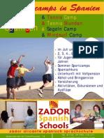Sommercamps in Spanien Fur Jugendliche