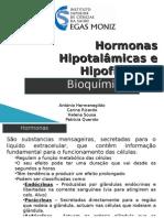 Trabalho - hormonas hipotálamo hipófise
