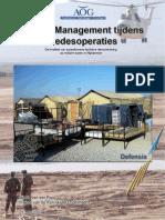 Facility Management Tijdens Vredesoperaties - Master Scrip Tie Maj I.H. Van Der Pool MFM - 21 Mei