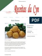 Bala Baiana Receitas Da Cyn