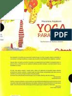 Yoga para niños Kojakovic, Macarena -