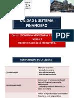 sesión 1 economía monetaria y bancaria unmsm 2013-II