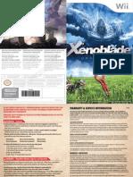 Wii Xenoblade Chronicles Manual