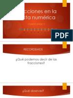 CUARTO BÁSICO- FRACCIONES EN RECTA NUMÉRICA
