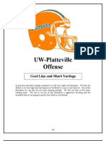 UW Platteville Goaline package