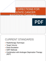 Prostate Radiotherapy - current standards and future directions