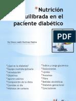Nutricion en El Paciente Diabetico
