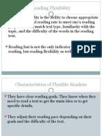 1. Reading Flexibility