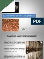 handicraft printing in rajasthan