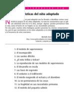 Caracteristicas Del Nino Adoptado