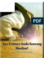 Apa Ertinya Anda Seorang MUSLIM
