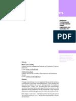 Dinâmicas Territoriais do Envelhecimento, análise exploratória dos resultados dos Censos 91 e 2001 (INE)
