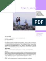 Dinâmicas territoriais e trajectórias de desenvolvimento, Portugal 1991-2001 (INE)
