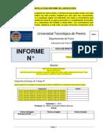 Plantilla Informes de Laboratorios