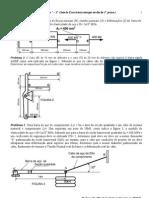 LISTA No1(2013) Mecanica Dos Solidos