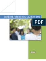 Biblical Femininity Studies 101 Sample
