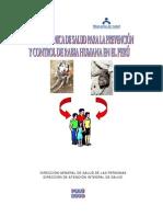 NORMA TÉCNICA DE ANTIRABIA