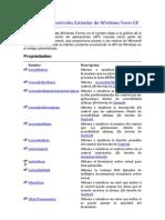 Guia Rapida Controles Estandar de Windows Form C
