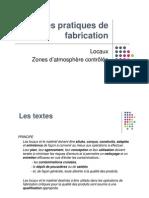 BPF Locaux Et Materiel 2012