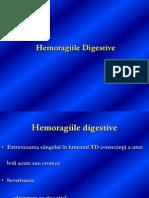 Hemoragiile Digestive Prof. Dr. Stoica 2013