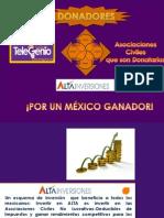 Presentación ALTA ASOCIACIONES CIVILES TELEGENIO