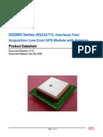 GSSM3 Series Specification V1[1].8