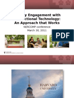 Faculty Engagement with Educational Technology