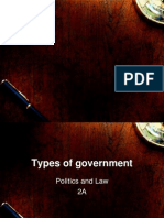 Chapter 1 Types of Government