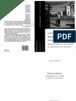 76. Parias Urbanos - Loic Wacquant