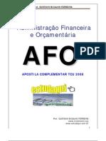 Noções da administração Financeira e Orçamentaria