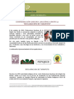 Alerta Informativa_declaracin de Tarapoto