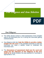 3Due Diligence and Area Selection