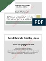 RAICES GRECOLATINAS
